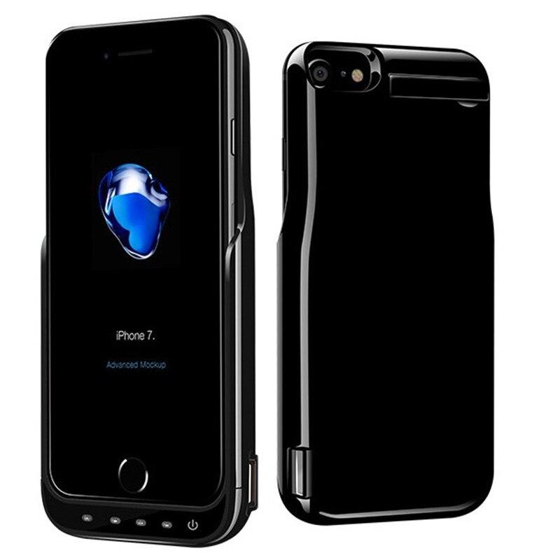imágenes para Lujo 10000 mah caso del cargador de batería para iphone 6 6 s 4.7 pulgadas mini powerbank reserva portable batería externa de carga caso