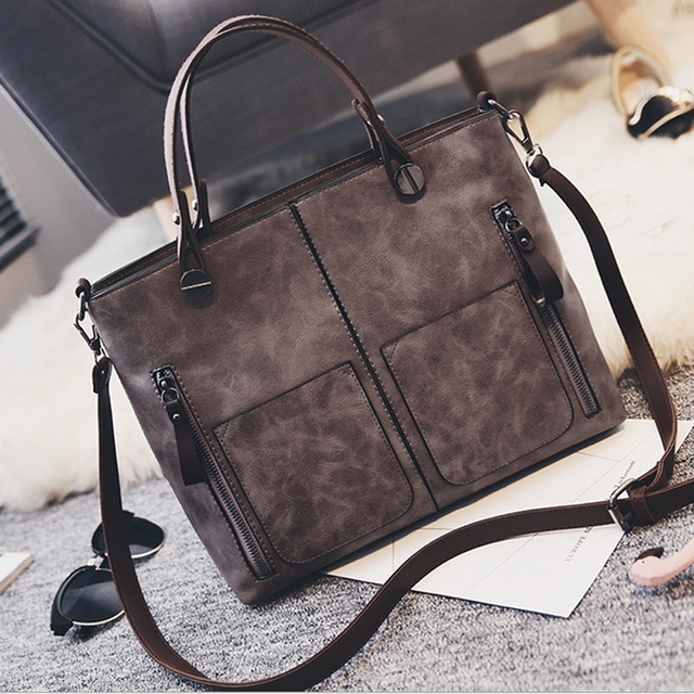 New 2017 hot sale pu Leather Shoulder Bag women Business handbags Briefcases dress Totes fashion Handbag high-quality  crossbody