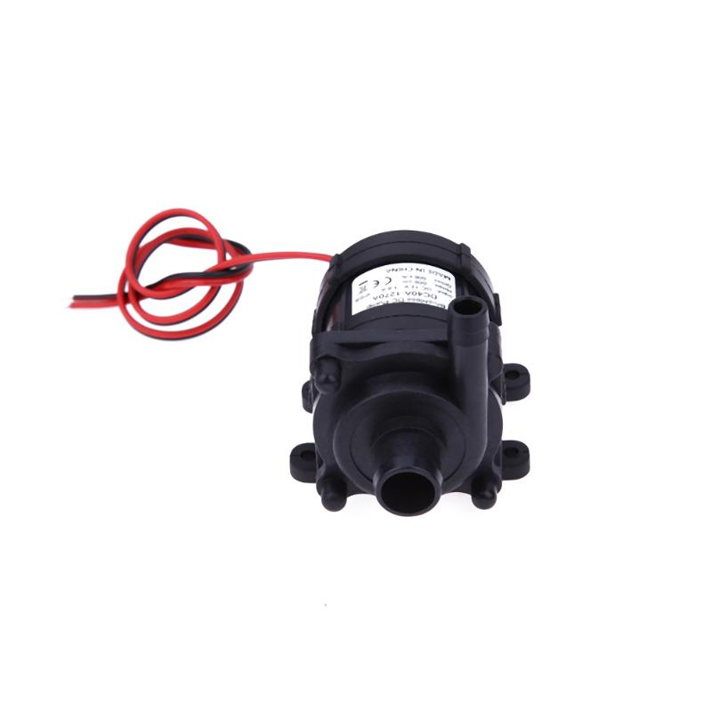 DC12V 6m 500L/H Ultra Quiet Brushless Motor Submersible Pool Water Pump Sol цена