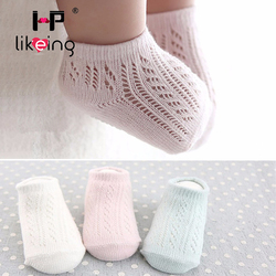 Summer style soild color mesh baby socks for new born unisex kid children infant boy girl.jpg 250x250