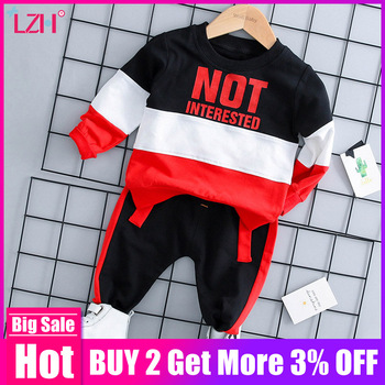 Infant Clothing 2019 Autumn Spring Baby Boys Clothes Set T-shirt+Pants 2pcs Outfits Kids Costume Baby Set Newborn Baby Clothes