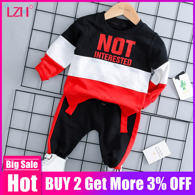 Infant Clothing For Baby Girls Clothes Set 2019 Autumn Winter Baby Boys Clothes T-shirt+Pant Costume Outfit Suit Newborn Clothes 1