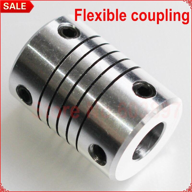 3//4//5//6//6.35//7//8//10mm Motor Flexible Shaft Couplings Coupler Connector D20L25