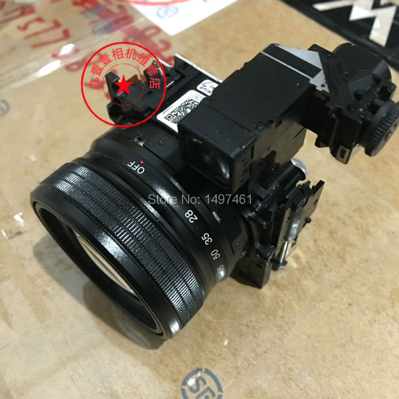 95% Black New Original zoom lens Without CCD repair parts For Fujifilm Finepix X10 X20 digital camera купить