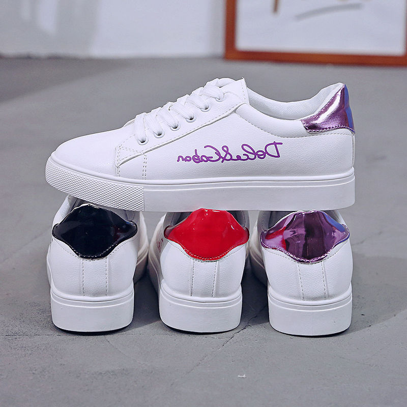 Women Shoes Vulcanize Flat Canvas Shoes New Summer White Student Board Shoes Ladies Casual Shoes Female Sneakers