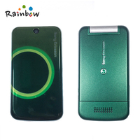 Original Sony Ericsson T707 Used Mobile Phone Unlocked Flip t707 Blue Bluetooth Up to 16G Memory Card Slots