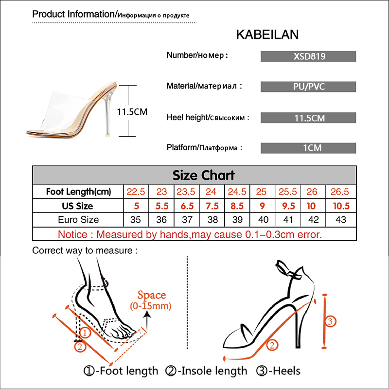 2019 Summer New Design Crystal Heel Women Sandals Sexy Ladies Shoes Thin Heel Transparent Woman Pumps Sapato Star Style Shoes in High Heels from Shoes