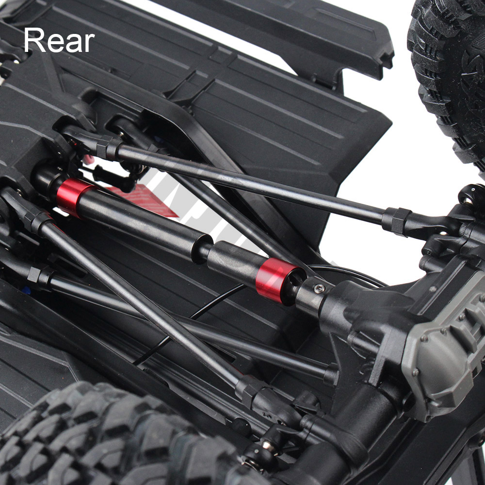 Image 5 - INJORA 2PCS TRX4 Metal CVD Drive Shaft for 1/10 RC Rock Crawler 324MM Wheelbase Traxxas TRX 4 RC Car-in Parts & Accessories from Toys & Hobbies