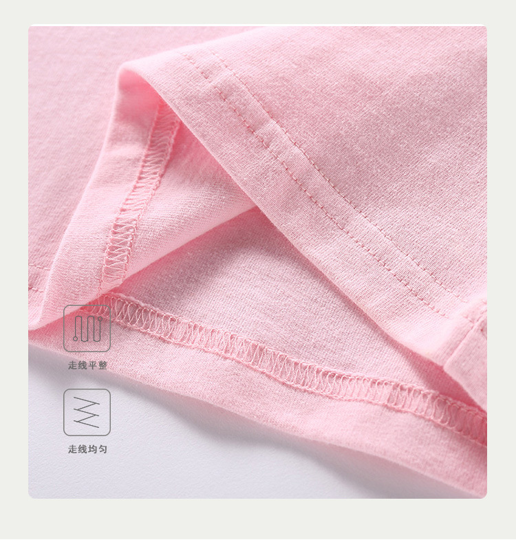 VIDMID Baby girls t-shirt Summer Clothes Casual Cartoon cotton s tees kids Girls Clothing Short Sleeve t-shirt 4018 06