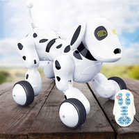 Dog Robot Dance Electronic Pet Intelligent Robot Dog Toy 2.4G Wireless Talking Remote Control Kids Gift Music Educational Toys