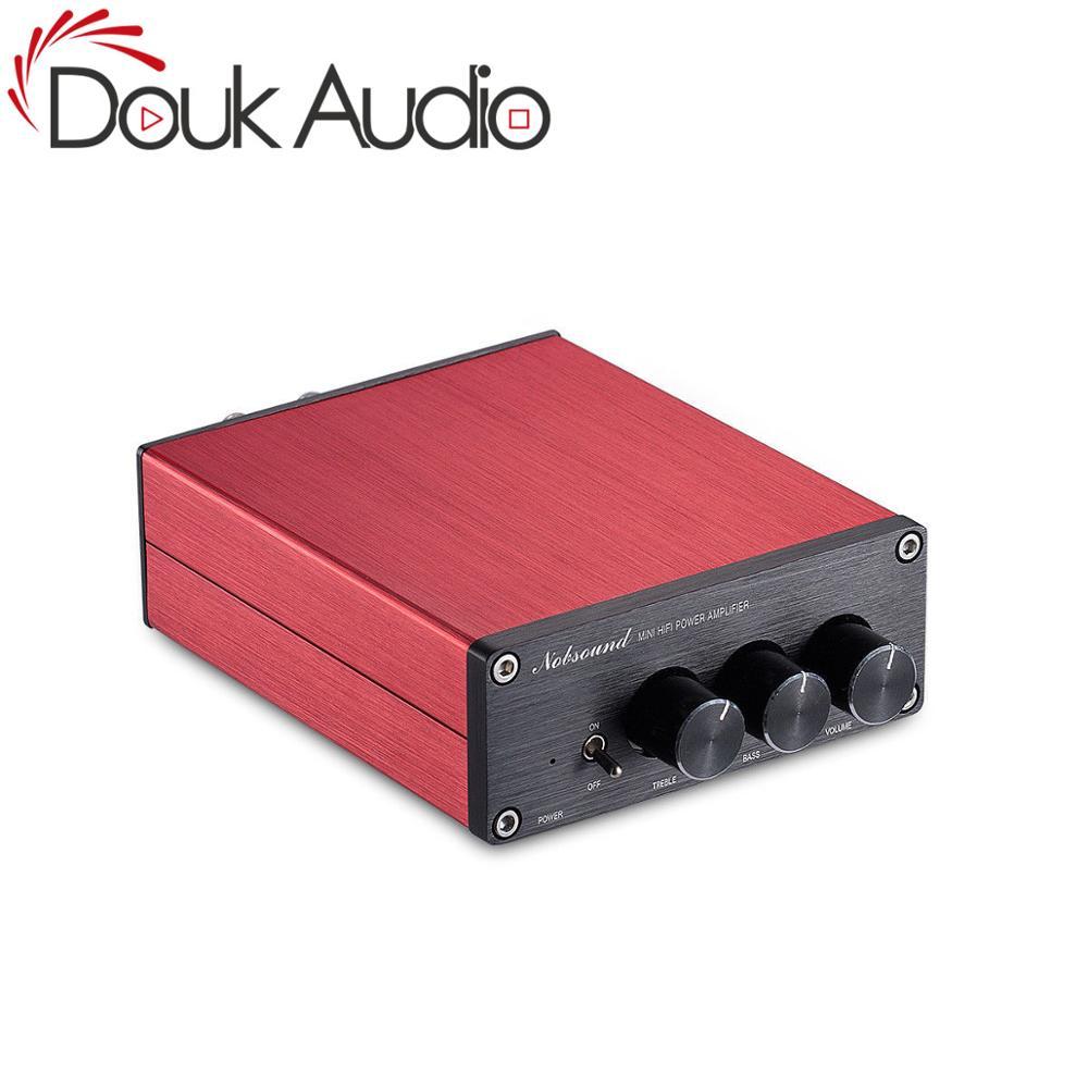Douk Adio Hi Fi TPA3116 Digital Power Amplifier Hi Fi Audio Stereo Amp With Treble Bass