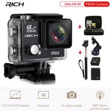 RICH Ultra HD 4K Pro4 Action Camera 1500mah battery WiFi Waterproof 45M Time Lapse 170 Wide Lens Slow Motion Sport Camera