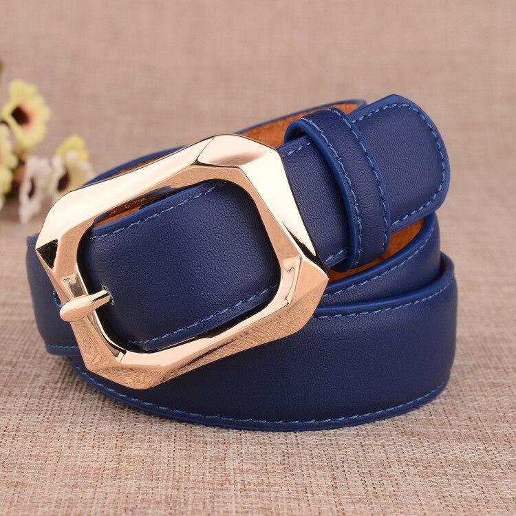 Badinka 2018 New Designer Black White Gold Wide 100% Genuine Leather Belt Female Jean Trouser Waist Belts for Women Waistband