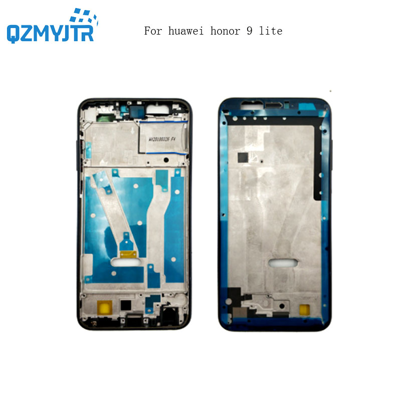 Replacement Parts For Huawei Honor 9 Lite Front LCD Housing Middle Frame Faceplate Rear Bezel Plate Chassis+Power Volume Button