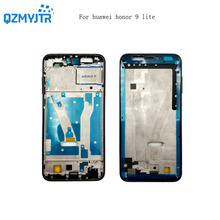 Запасные части для Huawei Honor 9 Lite спереди ЖК-дисплей Корпус Средний рамка; Лицевая панель сзади безельные шасси + Мощность Кнопки громкости