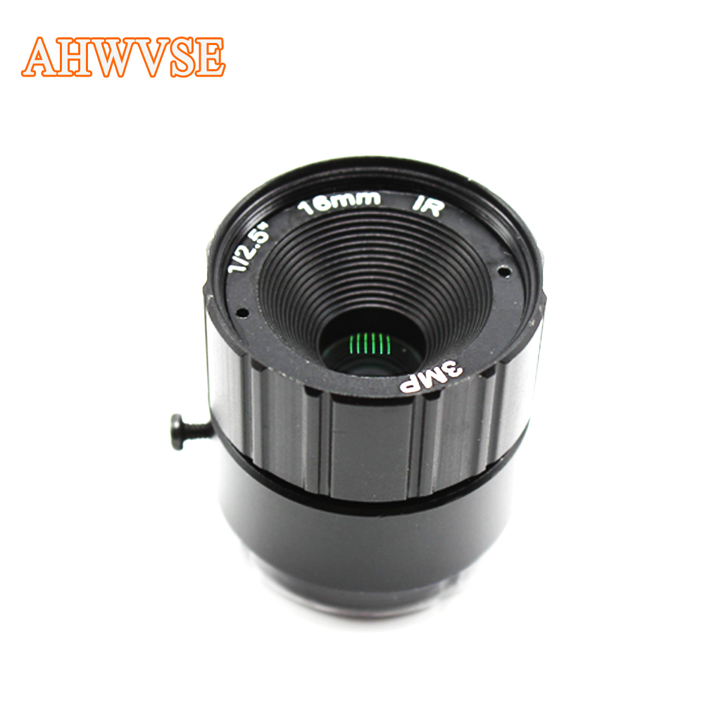 3MP CS lens 4mm 6mm 8mm HD CCTV IP Camera Lens IR Security Camera Lens For HD AHD HD CVI SDI Cameras CS Mount 8mm 12mm 16mm cctv ir cs metal lens for cctv video cameras support cs mount 1 3 format f1 2 fixed iris manual focus