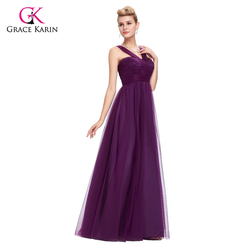 Moderno Asequibles Vestidos De Dama De Color Púrpura Ideas Ornamento ...
