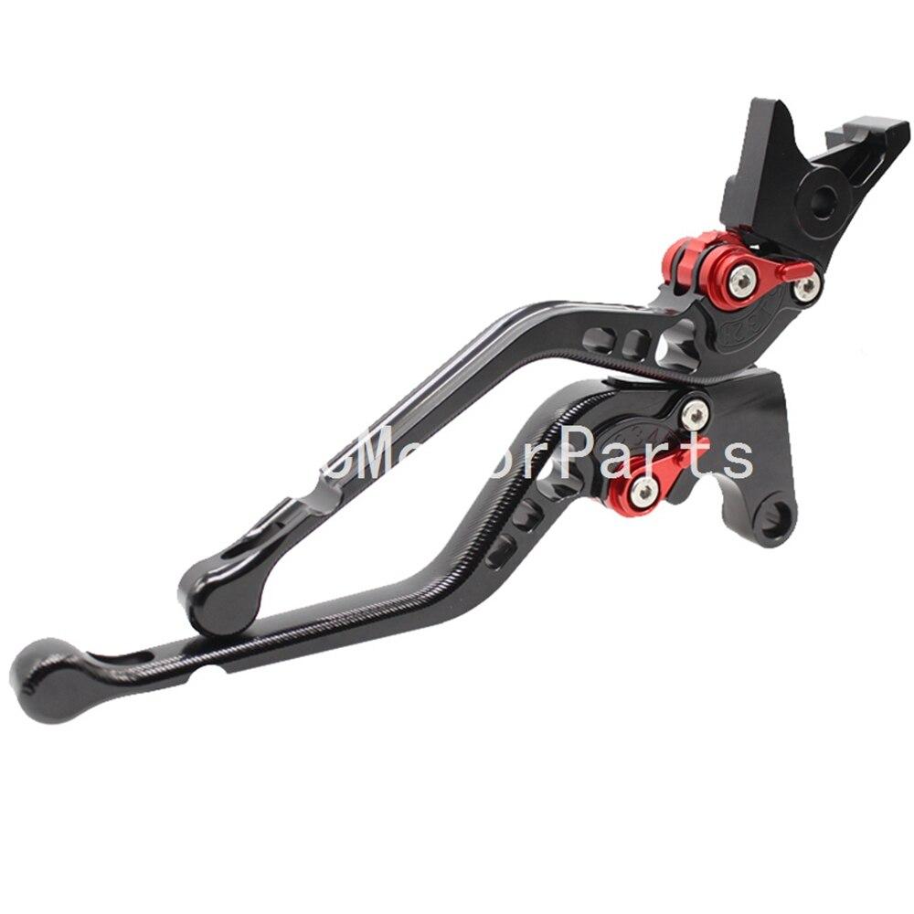 Motorcycle Clutch Brake Lever Black 3D CNC Long Adjustable For Kawasaki VERSYS 1000 VULCAN S VERSYS 650cc 2015-2016 cnc motorcycle brake clutch lever handle grips for kawasaki versys 650 cc 2015 2016 2017