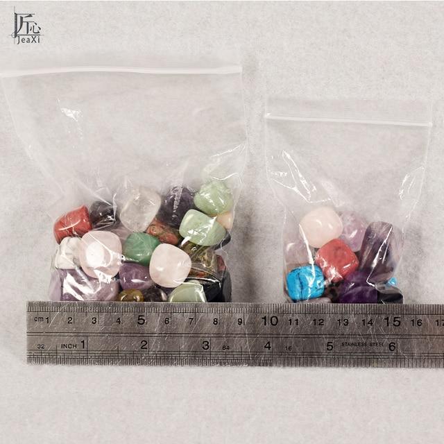 Assorted Tumbled Chips Stone Crushed Crystal Quartz Pieces Irregular Shaped Stones 4
