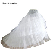 2017 High Quality 3 Hoops Slip Petticoat Underskirt For A Line Wedding Dress Bridal Gowns Wedding Accessories Crinoline In Stock