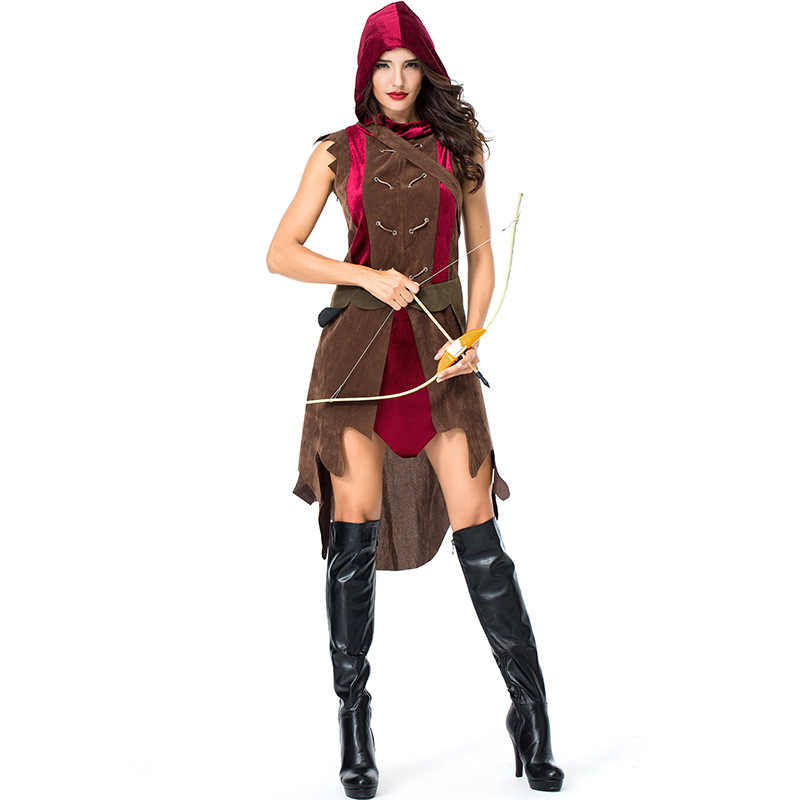 New Women Roman Greek Gladiator Costume Laides Warrior Princess Dress Up  Halloween Cosplay Clothing Stag Party Costume Outfit