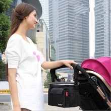 Insulation Aluminum Baby Stroller Bag Baby Carriage Food Cup Bag Pram Buggy Cart Bottle Bags Stroller Organizer Accessories