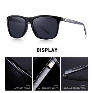 Image 3 - MERRYS Unisex Retro alüminyum güneş gözlüğü polarize Lens Vintage güneş gözlüğü erkekler için/kadın S8286