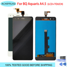 black/white For BQ Aquaris A4.5 LCD Display Touch Screen Digitizer Assembly Replacement Parts