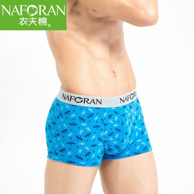 4 Цвет Новый Бренд Хлопок Стиль Трусики Мужские Боксер Шорты Удобные Дышащие Man Underwear Spandex Pattern Cueca Стволы