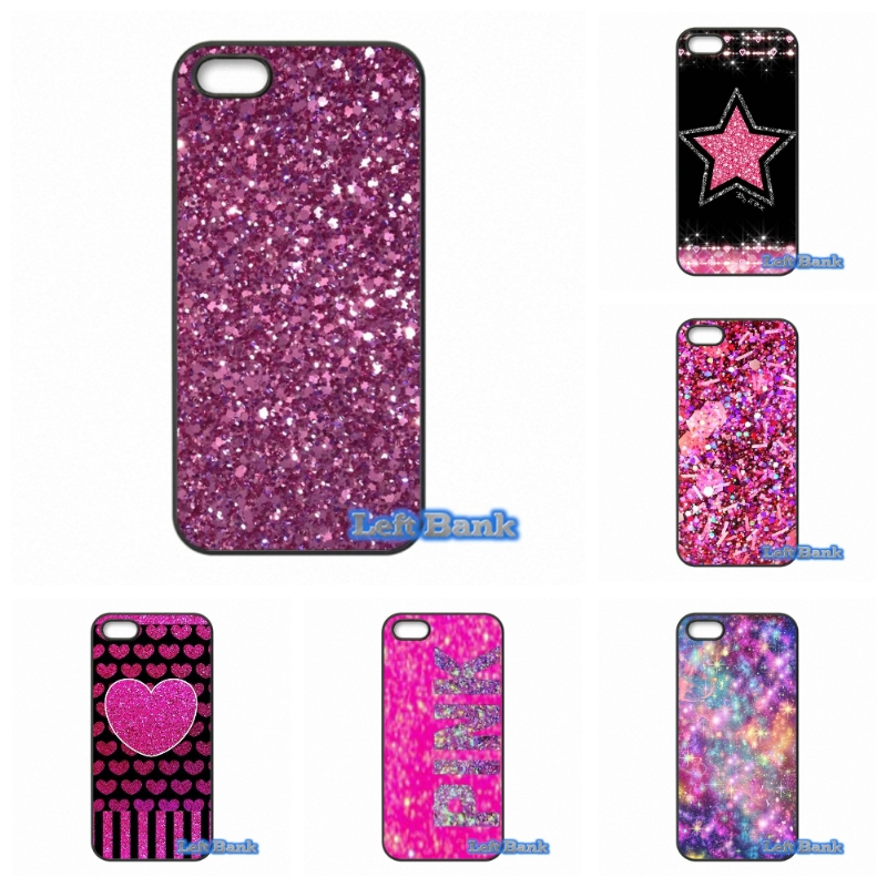 Fashion Gold Pink Glitter Phone Cases Cover For Samsung Galaxy 2015 2016 J1 J2 J3 J5 J7 A3 A5 A7 A8 A9 Pro