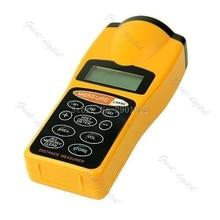 LCD Dispositivo de Puntero Láser de Distancia Ultrasónico Rango Medida Buscador 18 M de $ NUMBER PIES-B119
