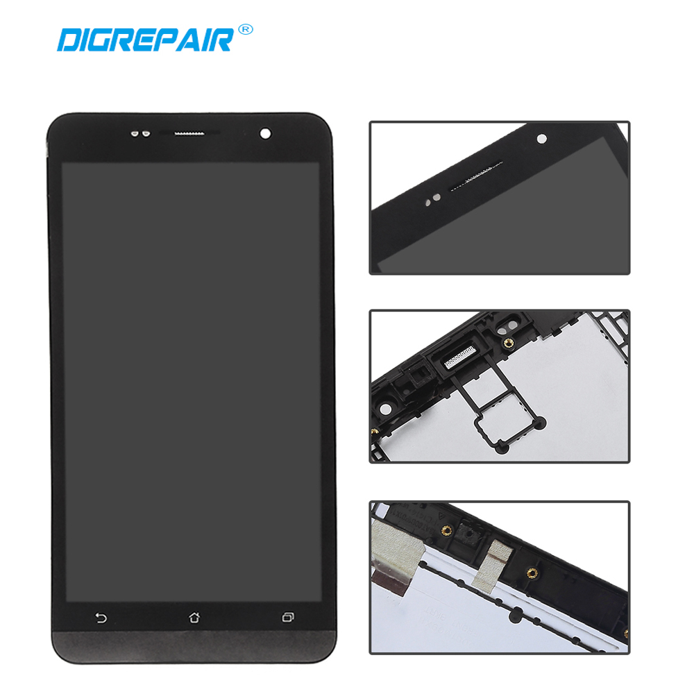 "For Asus Zenfone 6 6/"" LCD Display Touch Screen Digitizer Assembly Black"
