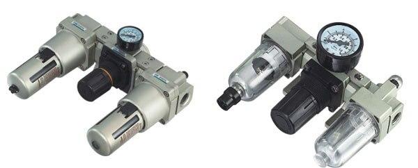 SMC Type pneumatic frl Air combination AC2000-02 smc type pneumatic solenoid valve sy5120 3lzd 01