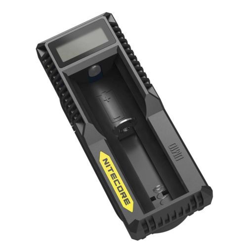 Nitecore UM10 Digital Smart USB Charger 18650 17650 17670 RCR123A 16340 14500