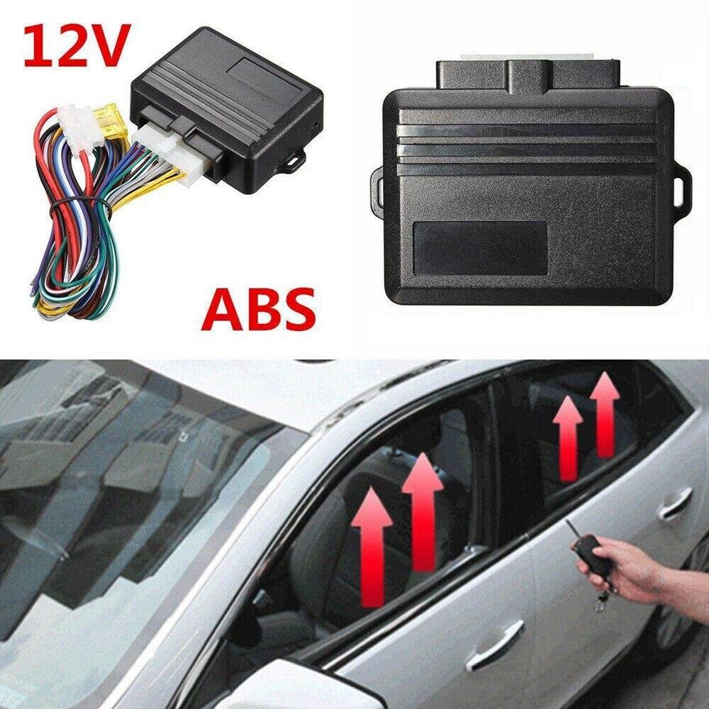 Universal 10V-16V Car Safety Alarm Window Roll Up Closer 1 Set for 4 Doors Windows Module Protector