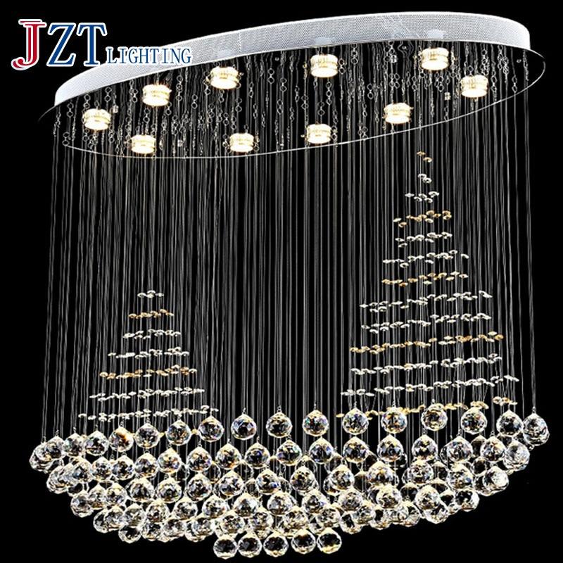 J Best Price Special K9 crystal moedern absorb dome light LED crystal lamp stair lights/hallway lights/corridors ceiling light atlantic seashore 72365 41 65