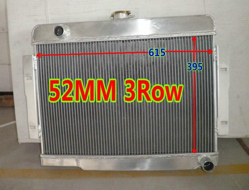 For 1972-1986 JEEP CJ CJ5//CJ6//CJ7 3 ROW ALUMINUM RADIATOR 73 75 77 79 81 83 85