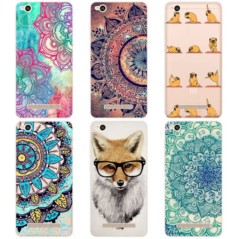 Fundas For Xiaomi Redmi 4A Case Soft TPU Silicone Colored Painting Phone Cases For Xiaomi Redmi 4A Redmi4A 5.0 inch Case Cover