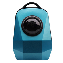 Pet Products Dog Supplies Fashion Polygon Capsule Glass Design Puppy Teddy Small Dog Carrier Dog Backpack