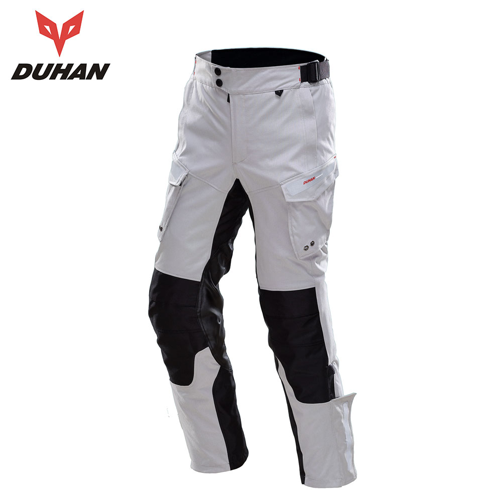DUHAN Motorcycle Pants Men Waterproof Motorbiker Enduro Riding Motocross Trousers Off-Road Racing Pants Pantalon Motocicleta duhan men pantalon moto oxford cloth motorcycle enduro racing pantalon trousers motorcycle pants motorcycle trousers moto pants
