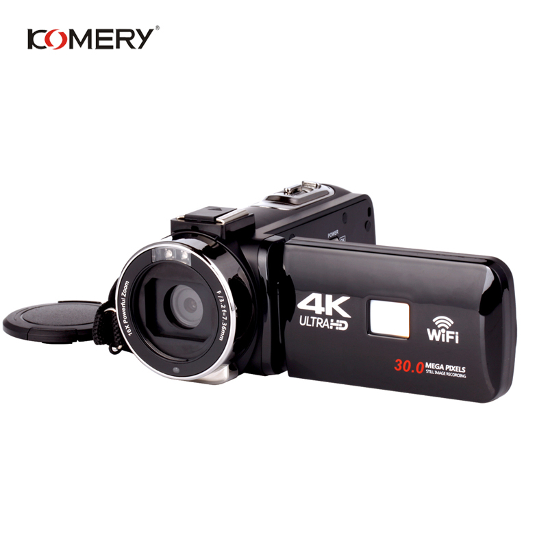 3pieces Original KOMERY 4K Video Camera Support Wifi Night Vision 3.0 Inch LCD Touch Screen fotografica Digital Camera camcorder3pieces Original KOMERY 4K Video Camera Support Wifi Night Vision 3.0 Inch LCD Touch Screen fotografica Digital Camera camcorder