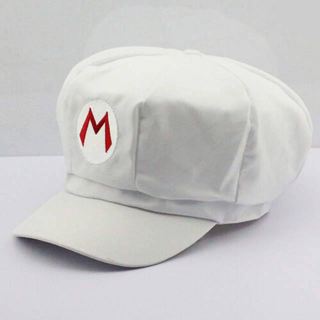 84c056790ac Online Shop Super Mario Cotton Caps hat Red Mario and luigi cap 5 colors  Anime Cosplay Halloween Costume Buckle Hats Adult Hats Caps