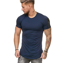 MarKyi o-neck t shirt short sleeve men fitness 2019 brand new tee overwatch casual tops & tees