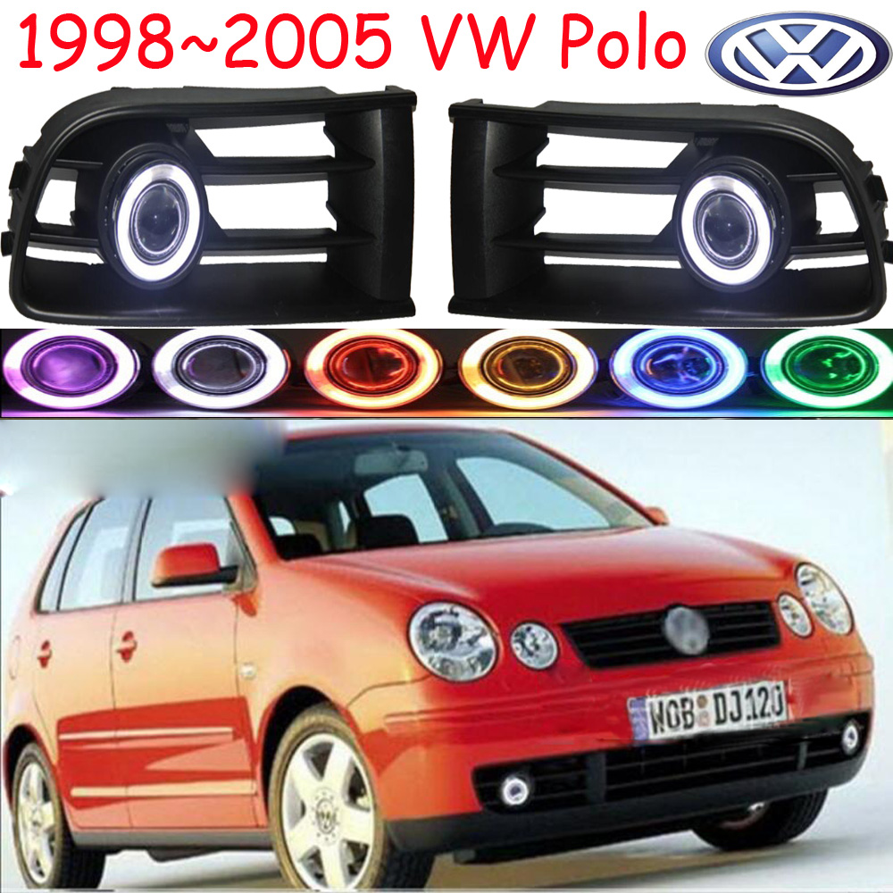 polo fog light ,1998~2005;Free ship!polo daytime light,2ps/set+wire ON/OFF:Halogen/HID XENON+Ballast,polo benro ph09