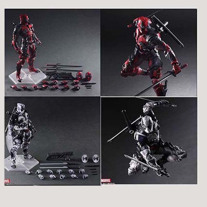 27cm Marvel X-men Deadpool Super Hero Action Figure Model Toy Doll Gift27cm Marvel X-men Deadpool Super Hero Action Figure Model Toy Doll Gift