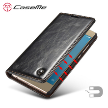 Huawei P9 lite Case Leather Wallet Luxury Card Holder Slot S