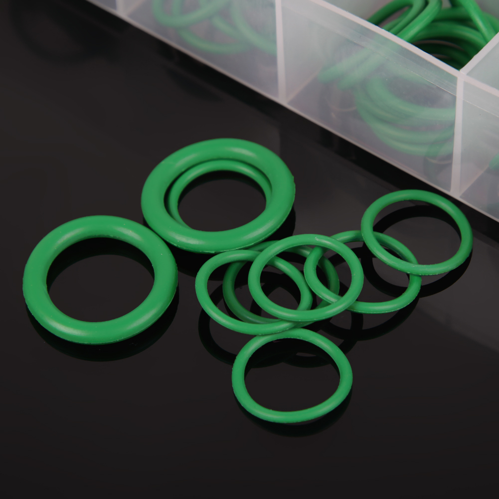 180/270 szt. 18 rozmiarów Zestaw gumowy O-ring Zestaw czarny zielony - Zestawy narzędzi - Zdjęcie 6