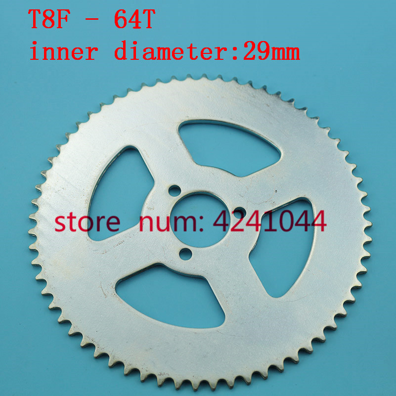 47cc 49cc Engine Motor /& T8F Chain /& 54T Sprocket for Mini Bike Chopper Scooter
