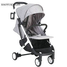 Hao YuKnight Lightweight Baby Trolley Can Be Put in a Folding Baby Stroller Lightweight Stroller