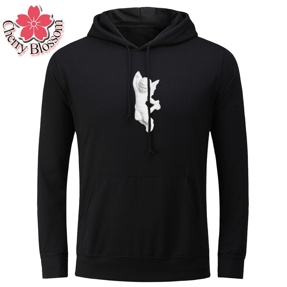 Cherry Blossom 2017 Men Sweatshirts  Hoodies Male Tracksuit Hooded Jackets Fashion Casual Jackets Clothing For Men Plus Size